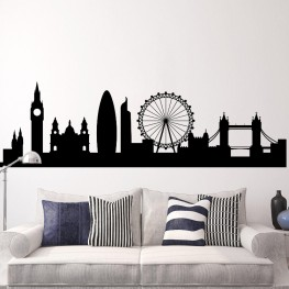 London Skyline Decal