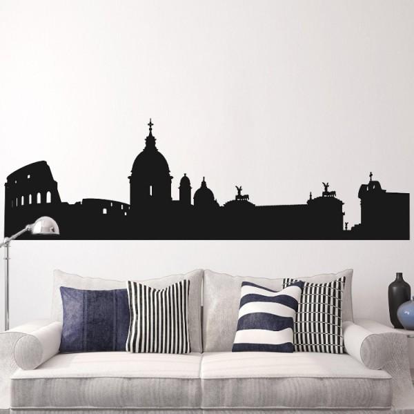Rome Skyline Decal