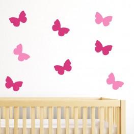 Butterflies Wall Decor Stickers