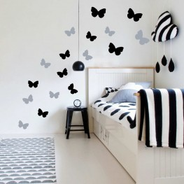 Butterflies Wall Decor Stickers