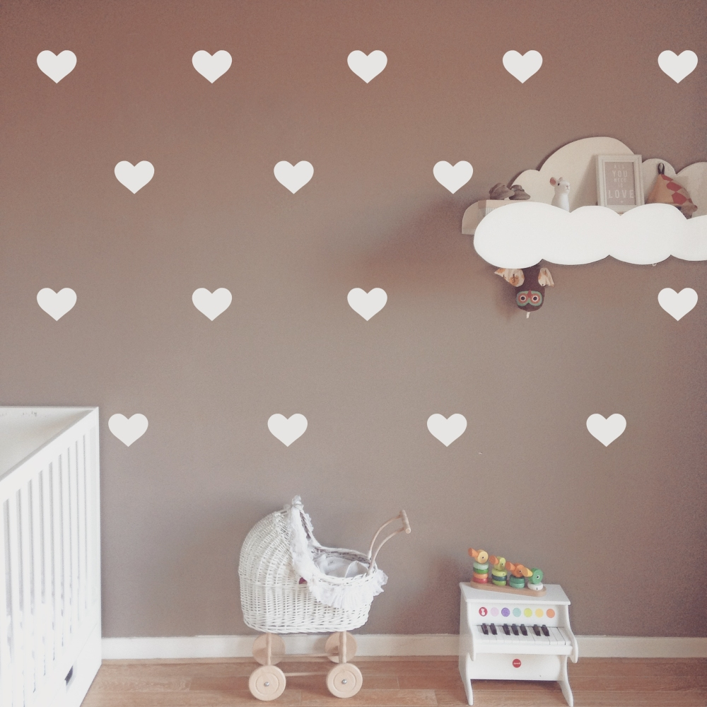 Walls decals decor hearts wall stickers amipublicfo Gallery
