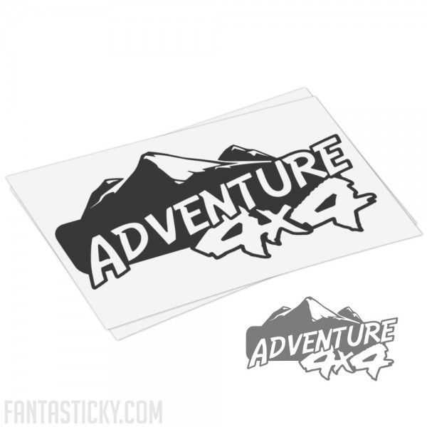 Adventure 4x4 decal