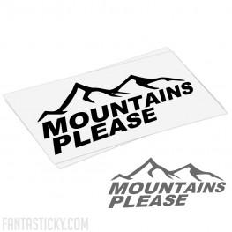 Mountains please